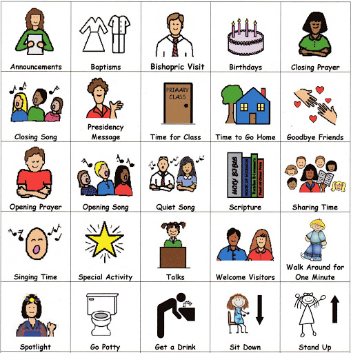 Help for Children with Disabilities – Visual Schedules | New Albany ...
